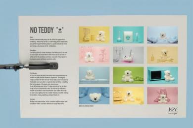 K-Y: NO TEDDY Design & Branding by DraftFCB Buenos Aires