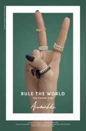Annoushka: Rule the World, 4 Print Ad by Mr. President London