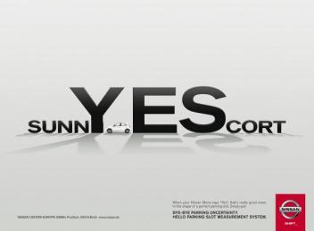 Nissan Micra: SUNNY / ESCORT [alternative version] Print Ad by TBWA\ Dusseldorf
