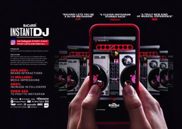 Bacardi: Instantdj Digital Advert by BBDO New York