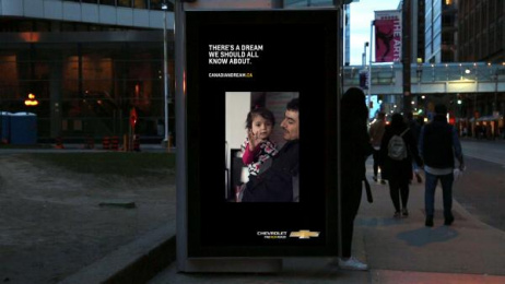 Chevrolet: The Canadian Dream [image] 2 Outdoor Advert by MacLaren McCann Toronto, Soft Citizen