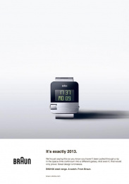 Braun BN0106: Back to the future, 2 Print Ad by BBDO Dusseldorf