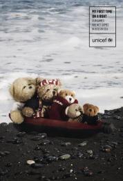 UNICEF (United Nations International Children's Emergency Fund): Boat Print Ad by ESNE, University School of Design Innovation and Technology Madrid
