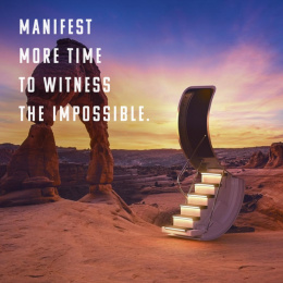 Manifest travel: Mindful travel, 4 Digital Advert by Madwell