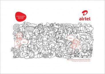Airtel: Easterners Print Ad by Noah's Ark Lagos