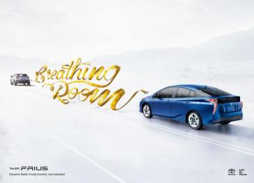 Toyota Prius: Breathing Room Print Ad by Carioca, Saatchi & Saatchi Los Angeles