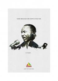 Arrive Alive: MLK Print Ad by Ireland/Davenport