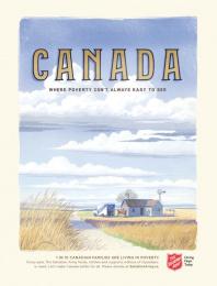 Salvation Army: Farm Print Ad by Grey Toronto, Westside Studio
