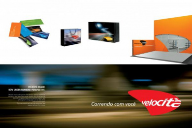 Specialist Retail Store: VELOCITÀ SPORT CORPORATE IDENTITY Print Ad by Brander | Branding Expression