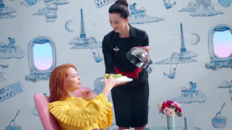 Air France: The Take Off And Landing Chewing Gum Film by BETC, Rita