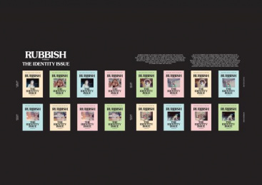 Holycrap.sg: Rubbish Famzine The Identity Issue Design & Branding by Kinetic Singapore