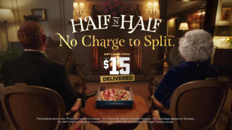 Domino's Pizza: Bring It In - Half 'n' Half Film by Elevencom, Australia, Taxi Vancouver