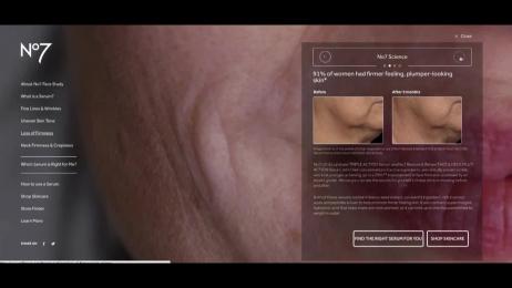 Boots №7: Face Study, 1 Digital Advert by studio art & commerce, Unit 9 London