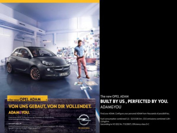 Opel: Built by us Print Ad by Scholz & Friends Hamburg