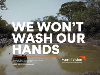 World Vision: We won't stay home, 2 Print Ad by Steve Paris