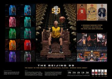 Nike: Beijing 99 Print Ad by Wieden + Kennedy Shanghai