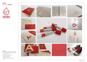 South African National Blood Service (SANBS): SANBS Campaign, 3 Design & Branding by Lowe Johannesburg