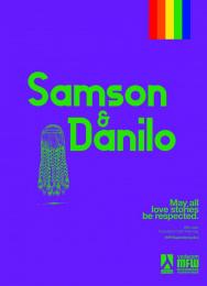 Mozambique Fashion Week: Purple - Samson & Danilo Print Ad by DDB Maputo