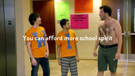 Walmart: School Spirit Film by Saatchi & Saatchi New York, Tent Content