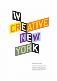 The One Club: CREATIVE WEEK NEW YORK IDENTITY Design & Branding by COLLINS, Rapp Collins Worldwide
