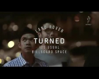 Land Rover: The Test Drive Billboard [video] Ambient Advert by The Campaign Palace, Y&R Singapore