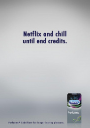 Durex: Perfoma Print Ad by Team collaboration