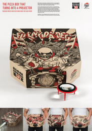 Pizza Hut: Blockbuster Box [image] Direct marketing by Ogilvy & Mather Hong Kong
