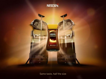 Nescafe: Same Taste, 2 Print Ad by Team collaboration