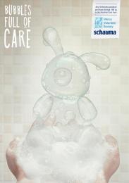 Schauma: Rabbit Print Ad by BBDO CA Almaty