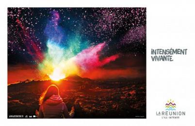 Ile de la Reunion Tourisme (IRT): Volcano Print Ad by Havas Reunion