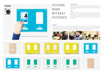 Fujifilm: Picture Book Without Pictures [image] Design & Branding by Beijing Dentsu Advertising Co., Dentsu Inc. Tokyo