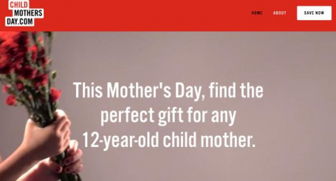 Save The Children: Child Mother's Day Digital Advert by J. Walter Thompson New York