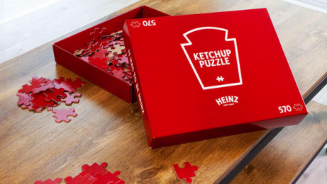 Heinz: Ketchup Puzzle, 3 Direct marketing by Rethink