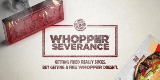 Burger King: #WhopperSeverance Digital Advert by DAVID Miami