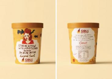 Sky Tv: GIRLS Break Up Ice Cream, 3 Direct marketing by DDB Auckland
