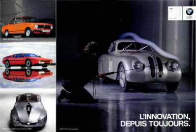 BMW: BMW, 1 Print Ad by J. Walter Thompson Paris