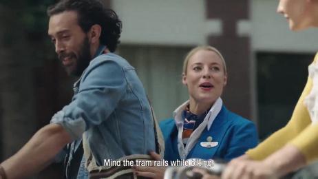 KLM Royal Dutch Airlines: Care Tag Digital Advert by DDB & Tribal Amsterdam
