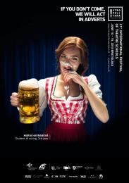 Academy Of Performing Arts: Waitress [image] Print Ad by Vaculik Advertising