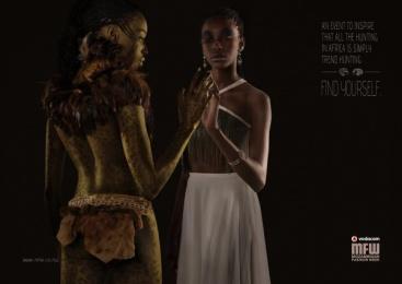 Vodacom Mozambique Fashion Week: Trend Print Ad by DDB Maputo
