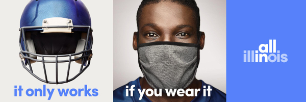 State of Illinois: It only works if you wear it, 4 Print Ad by O'Keefe Reinhard & Paul