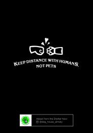 Senim-Meirim: Keep Distance with Humans, not Pets, 3 Print Ad by Grey Kazakhstan