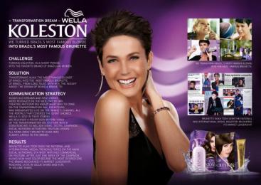 Wella Koleston: TRANSFORMATION DREAM Digital Advert by New Energy Brazil, Wunderman Sao Paulo