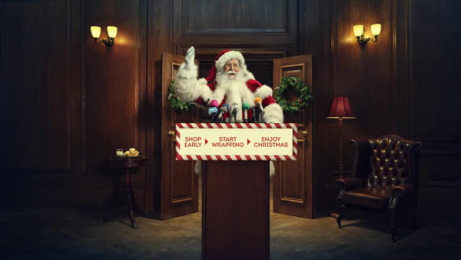 British Retail Consortium: Santa Has an Pressing Message for the British Public Film by Five by Five