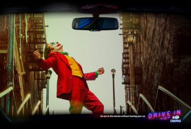 ZAP Cinemas: Drive-In: Joker Print Ad by Born