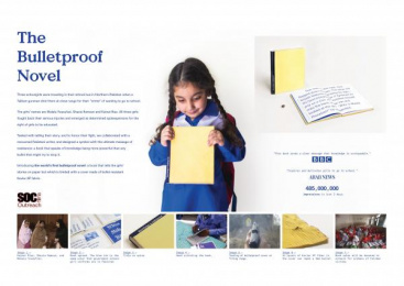 SOC Outreach: Design & Branding Print Ad by Impact BBDO Lahore