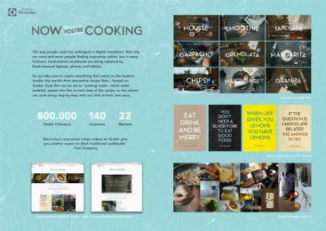 Electrolux: NOW YOU'RE COOKING Digital Advert by House of Radon