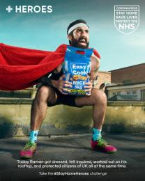 Heroes: #StayHomeHeroes, 2 Digital Advert by Iris London
