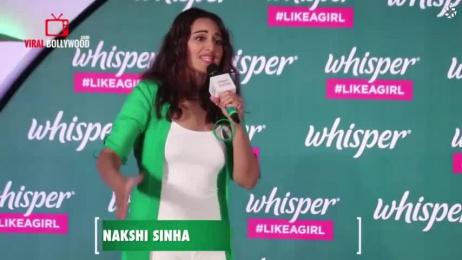 Whisper: Whisper#Likeagirl India Digital Advert by Mediacom Mumbai