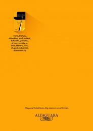 Alfaguara: Clockwork Orange Print Ad by FCB Lisbon