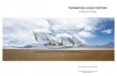 FONDATION LOUIS VUITTON: FONDATION LOUIS VUITTON Print Ad by BETC Luxe